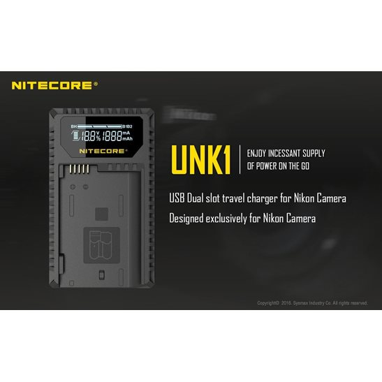 additional image for UNK1 Nikon Camera Charger