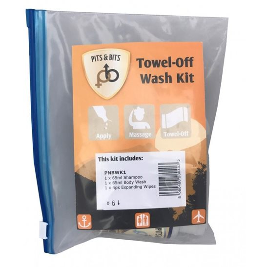 Pits & Bits Towel Off Wash Kit