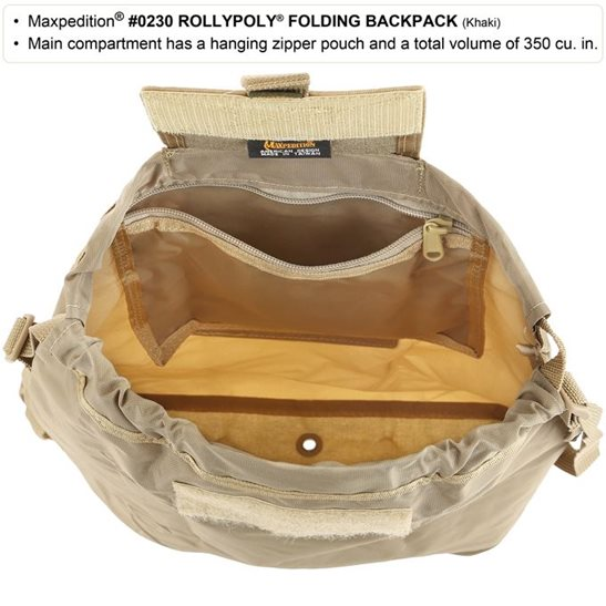 additional image for Rollypoly Backpack