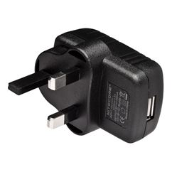USB to UK Plug Adapter