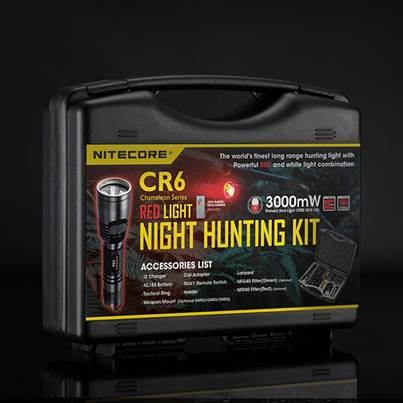 Nitecore CR6 Hunting Kit