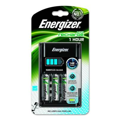 Energizer Accu Recharge 1 Hour Battery Charger