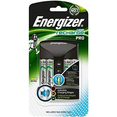 Energizer Accu Recharge Pro Battery Charger