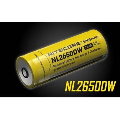 Nitecore NL2650DW Battery for R40 Torch