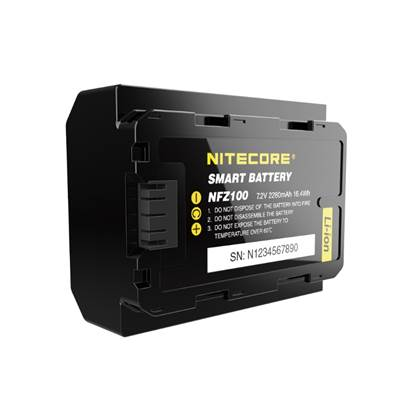 Nitecore NFZ100 Smart Sony Camera Battery