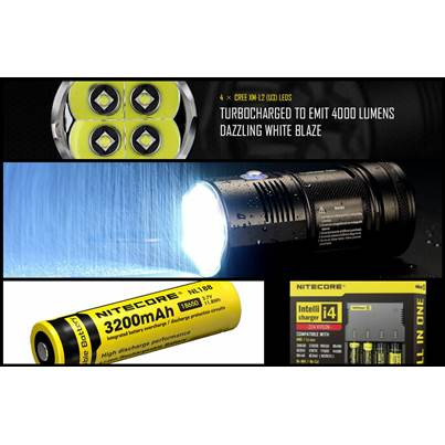 Nitecore TM06S Bundle Deal