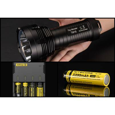 Nitecore TM16 Bundle Deal