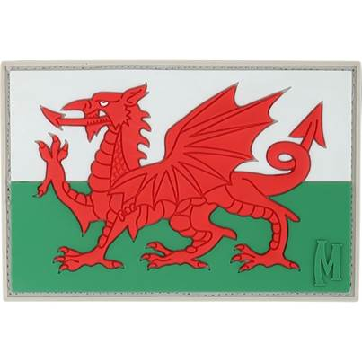 Maxpedition Welsh Flag Patch