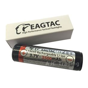 Eagletac 18650 3500 mAh Rechargeable Li-ion Battery
