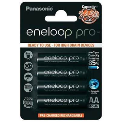 Eneloop Pro AA Ni-MH Rechargeable Batteries