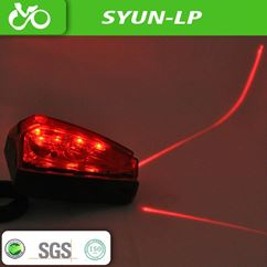 Rear Bicycle LED Laser Tail Light
