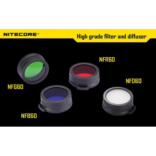 Nitecore 60mm Filters