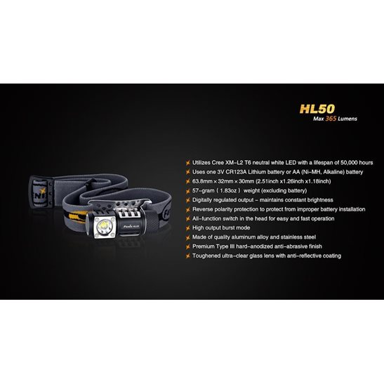 additional image for HL50 Headlamp