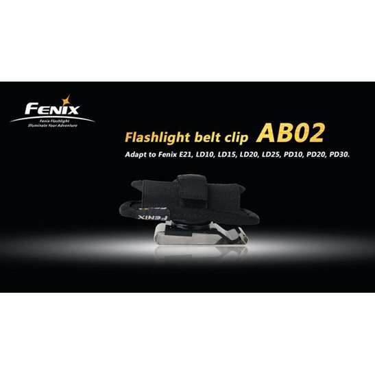 additional image for AB02 Flashlight Belt Clip