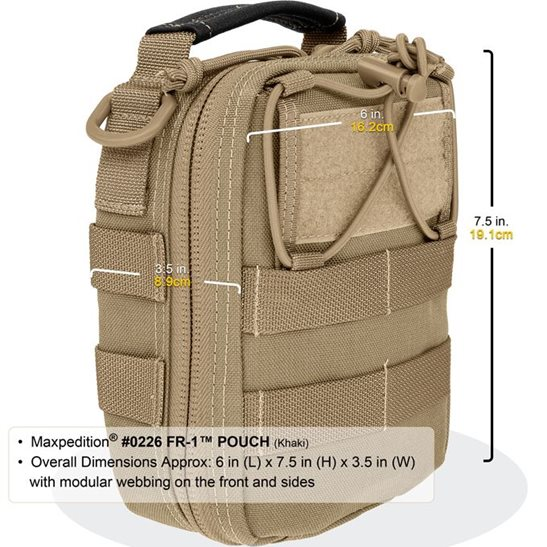additional image for FR-1 First Aid Pouch