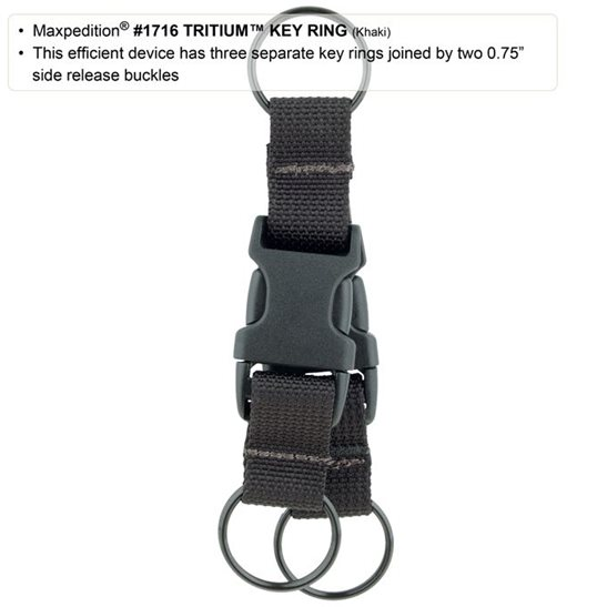 additional image for Tritium Key Ring