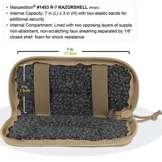 additional image for R7 Razorshell Pouch