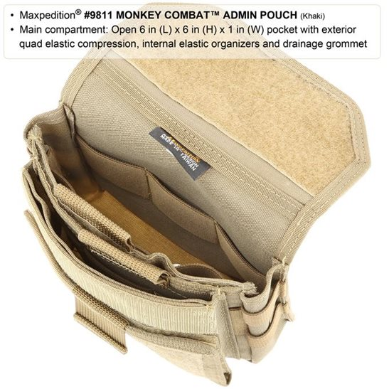 additional image for Monkey Combat Admin Pouch