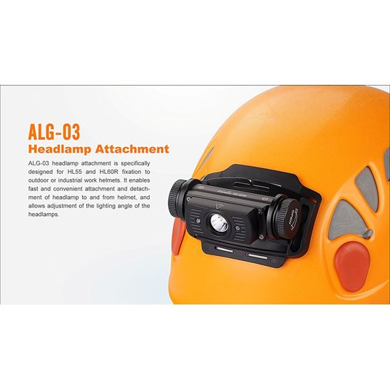 additional image for ALG-03 Helmet Headlamp Attachment