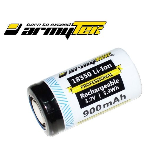 Armytek Customised 18350 Battery for Elf and Tiara C1