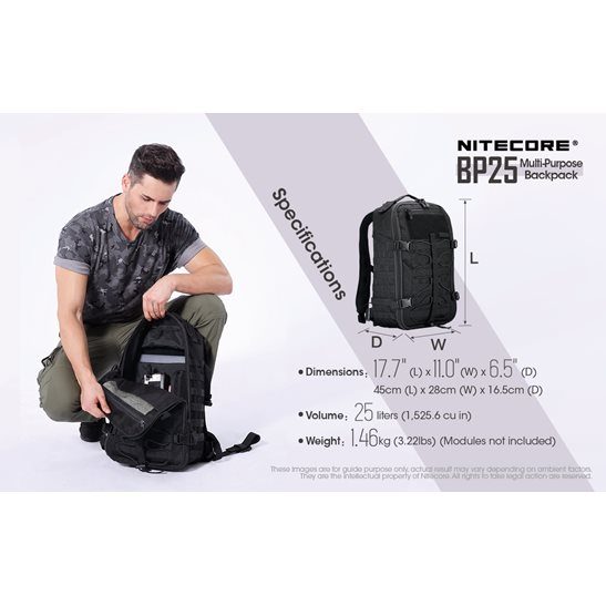 additional image for BP25 Backpack