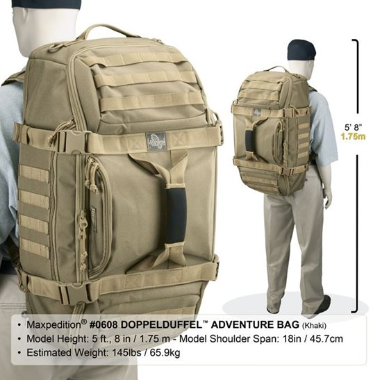 additional image for Doppelduffel Adventure Bag