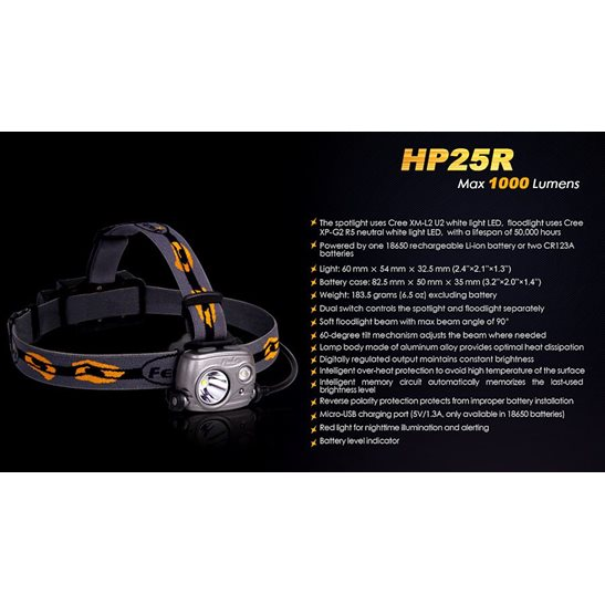 additional image for HP25R Rechargeable