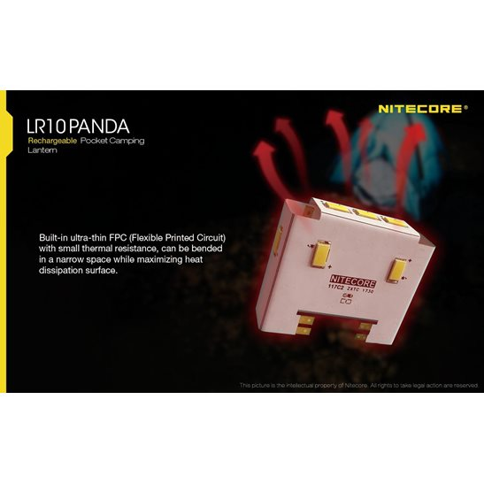 additional image for LR10 Panda Pocket Lantern