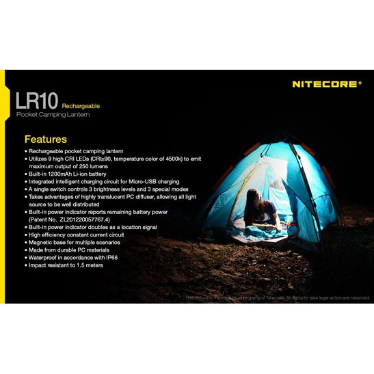 additional image for LR10 Pocket Camping Lantern