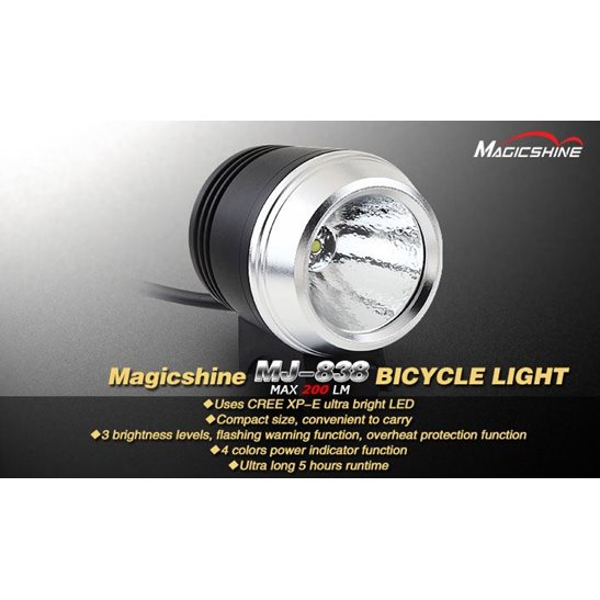 additional image for MJ838 Bicycle Light