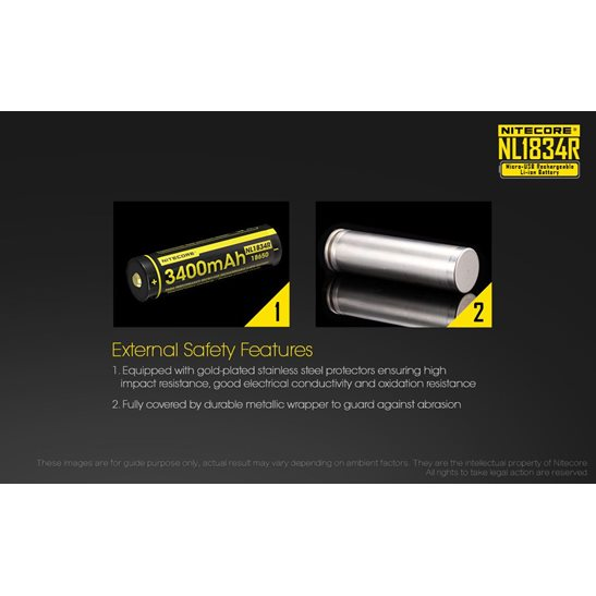 additional image for NL1834R Micro-USB 18650 3400mAh Li-ion Battery