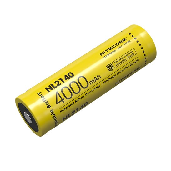 Nitecore 21700 Li-ion Battery (4000mAh) NL2140