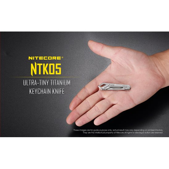 additional image for NTK05 Titanium Keyring Knife