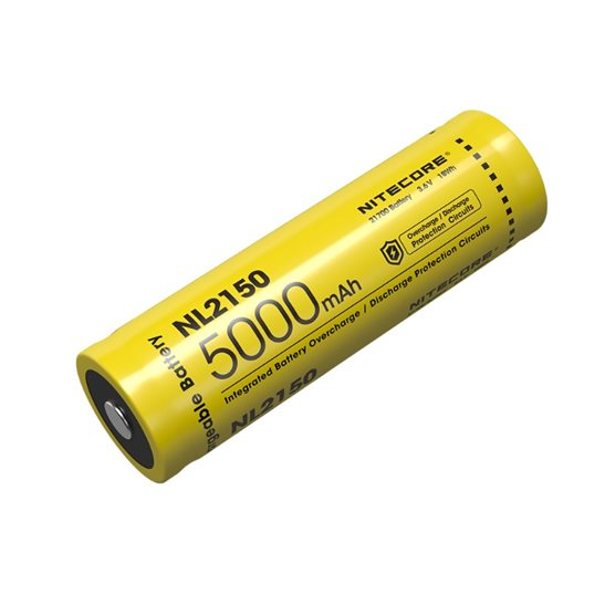 Nitecore 21700 NL2150 Li-ion Battery (5000mAh)