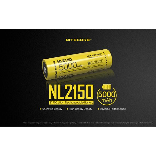 additional image for 21700 NL2150 Li-ion Battery (5000mAh)