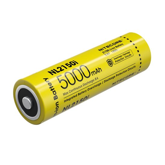 Nitecore 21700 NL2150i Li-ion Battery (5000mAh)