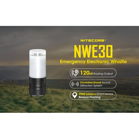 additional image for NWE30 Electronic Whistle