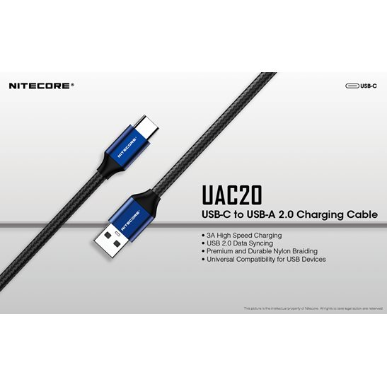 additional image for UAC20 USB-C Charging Cable