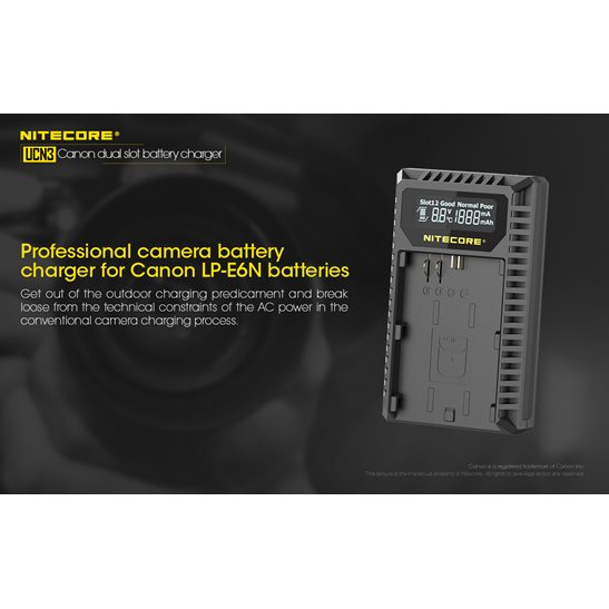 additional image for UCN3 Canon Camera Charger