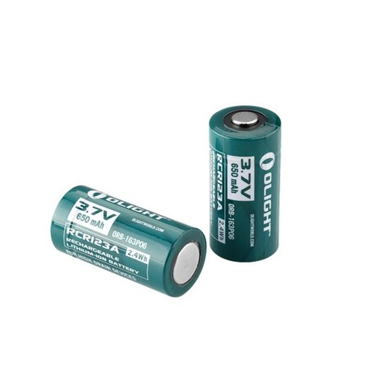 additional image for RCR123A (16340) 650mAh Battery