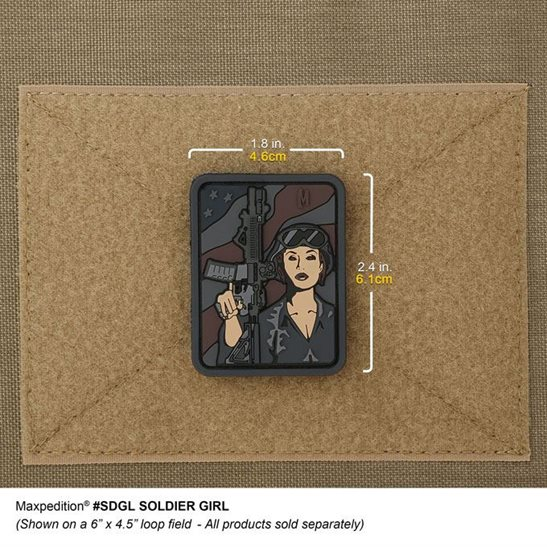 additional image for Soldier Girl PVC Patch