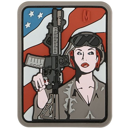 Maxpedition Soldier Girl PVC Patch