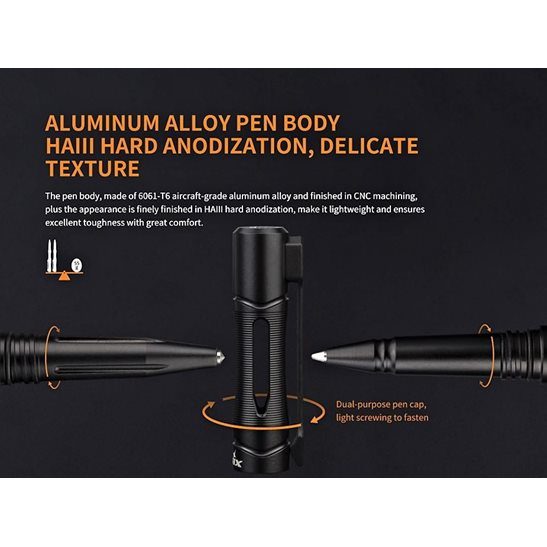 additional image for T5 Aluminium Tactical Pen