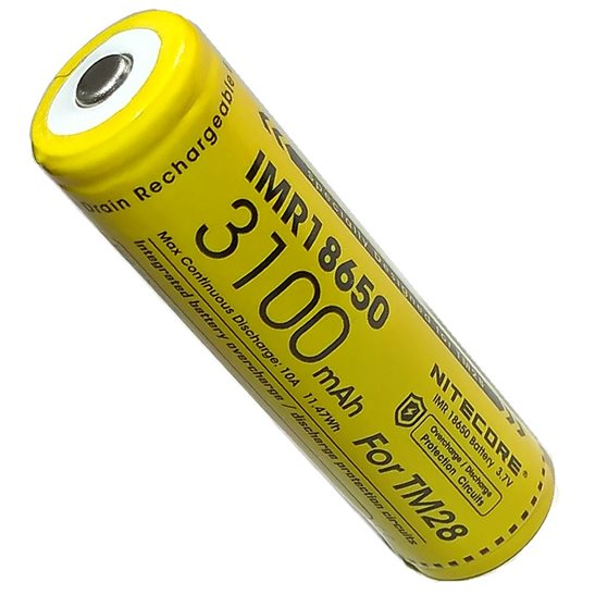 Nitecore IMR 18650 Rechargeable Battery for TM28 Torch