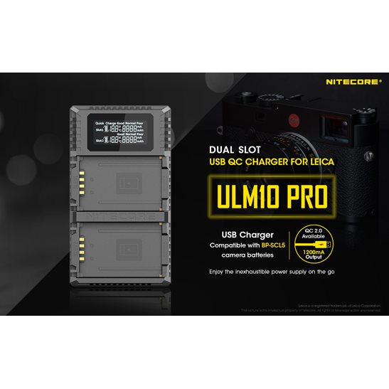 additional image for ULM10 Pro Leica Camera Charger