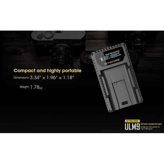 additional image for ULM9 Leica Camera Charger