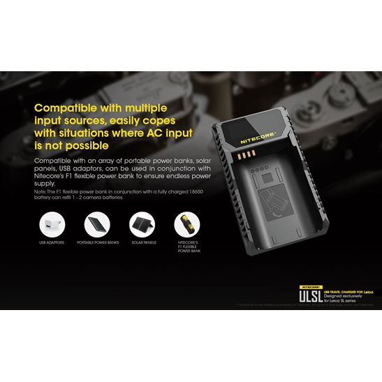 additional image for ULSL Leica Camera Charger