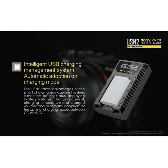 additional image for USN2 Sony Camera Charger