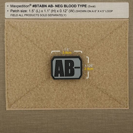additional image for AB Blood Type Patch