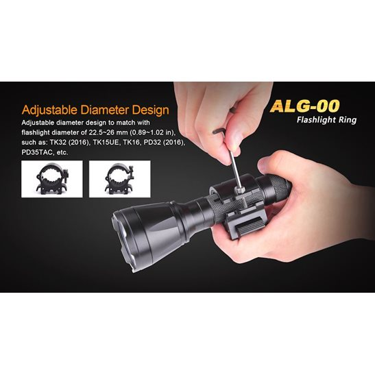 additional image for ALG-00 Quick Release Torch Mount